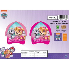 Casquette Paw Patrol Fille