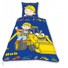Parure DUVET COVER BOB THE builder -measures 140 x 200cm and Pillowcase BOB THE builder