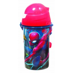 Spider-man automatic bottle Marvel 500 ML, SYSTEM Anti-drip system