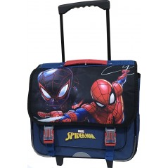 Trolley bag with wheels Spider-man Superior quality