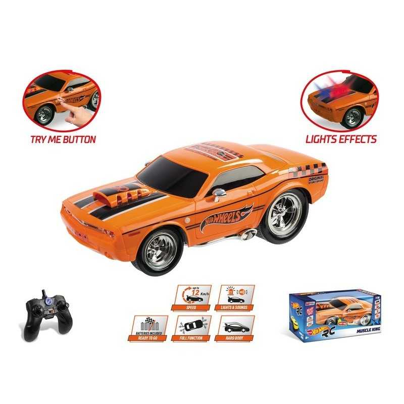 HOT WHEELS MUSCLE KING 1/16 with Rechargeable Battery