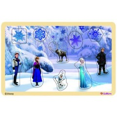 Wooden Puzzle The Snow Queen