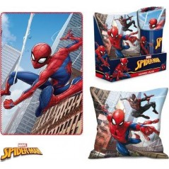 Spider-man Cushion and Blanket Display