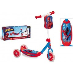 Scooter Spiderman 3 wheels + bag
