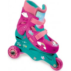 Inline Skates - 3 in 1 Evolution Unicorn Wheels