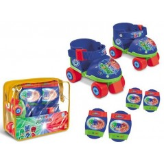 Pj Masks - Roller skates with protections Pj Masks