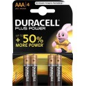 Battery Duracell Plus Power AAA/LR03 x 4