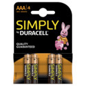 Battery Duracell Simply AAA