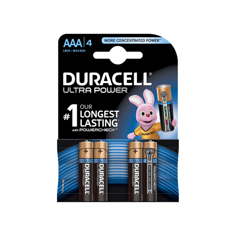 Battery Duracell Ultra Power AAA