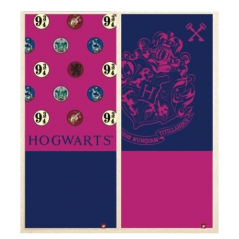 Cache cou Harry Potter en rose