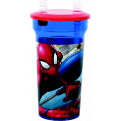 Marvel Spider-Man vaso de paja