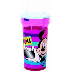 Minnie Disney vaso de paja