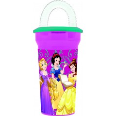 Princess Disney vaso de paja