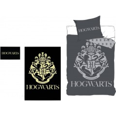 Glow-in-the-dark Harry Potter bedding set - Duvet cover and pillowcase that glows at night