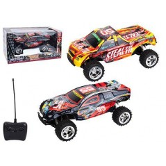 Voiture radio commandée 1/12ème RACING BUGGY 2 assortis