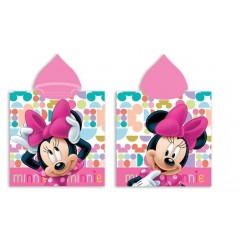 Minnie Disney Hooded Swim Poncho